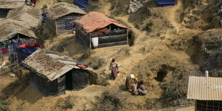 Refugee camps in Cox's Bazar Bangladesh (UN Women Flickr CC BY-NC-ND 2.0)