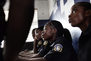 Women Police Officers in Liberia. Photo by UNFPA Flickr.